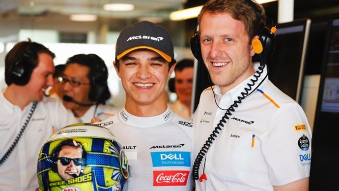 Norris admite que ha trabajado con su exingeniero de F1 para el simracing