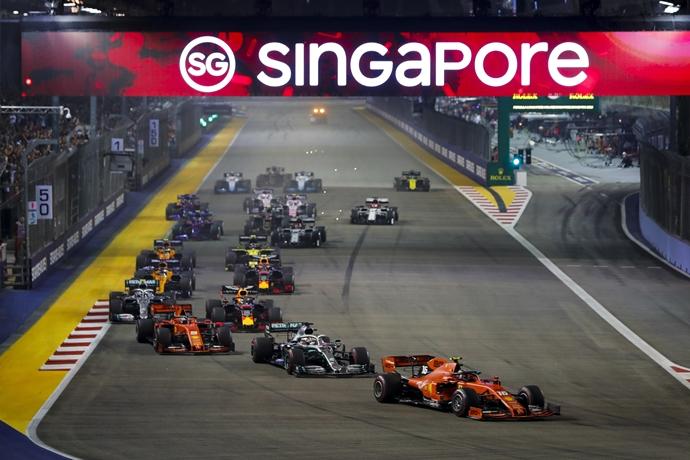 Singapur sigue en conversaciones con la F1 para albergar su carrera