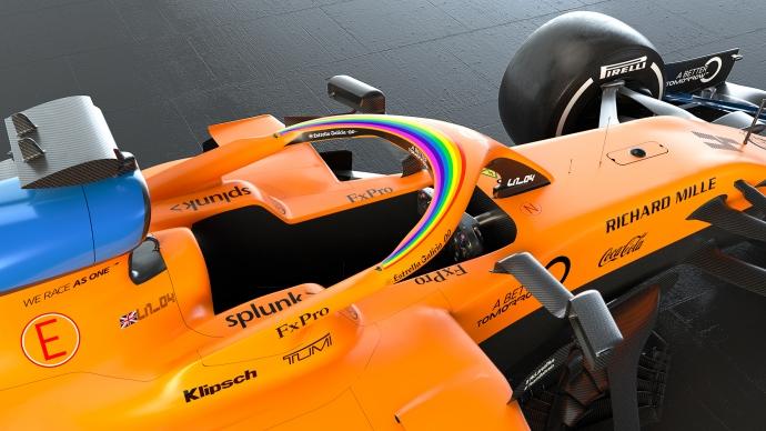 La F1 lanza una campaña para la lucha contra la Covid-19 y el racismo