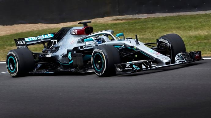 Bottas y Mercedes regresan a la carga en Silverstone