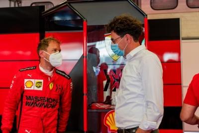 El uso de mascarillas será el gran desafío para el personal de los equipos, según Ferrari