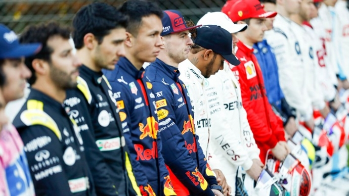 Los pilotos de la F1 reaccionan en contra del racismo