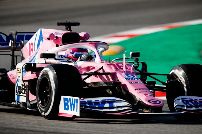 Racing Point rodará con el RP20 en Silverstone
