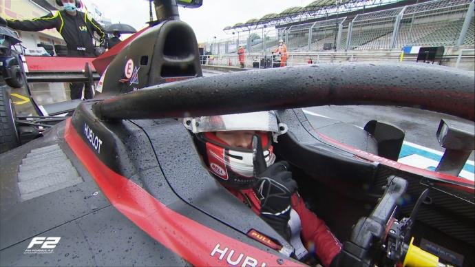 Ilott consigue la pole bajo la lluvia en el Hungaroring