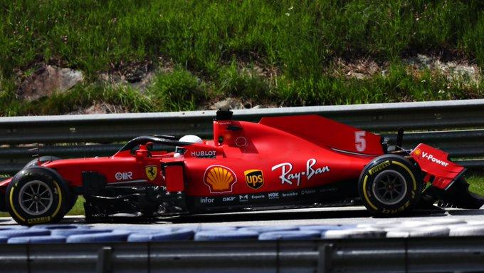 Domingo en Estiria – Ferrari se desmorona y termina en desastre