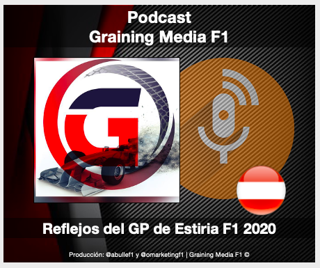 Podcast Graining Media F1 No. 44 con los Reflejos del GP de Estiria 2020