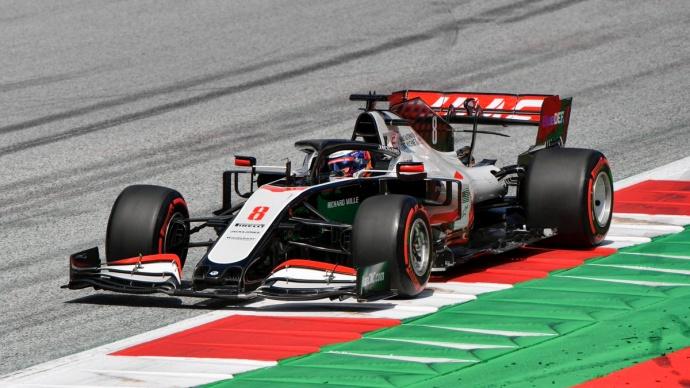 Sábado en Austria – Haas: Grosjean le gana el primer duelo a Magnussen