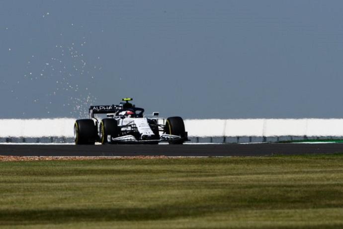 Viernes en Silverstone -Alpha Tauri un paso adelante