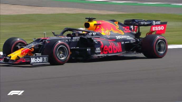 Verstappen comanda la primera sesión de prácticas en Silverstone