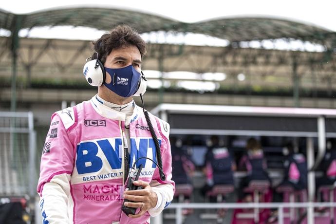 Pérez no correrá en el GP de Gran Bretaña tras dar positivo por coronavirus