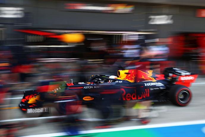 Viernes en Silverstone - Red Bull: un comienzo fuerte y agridulce