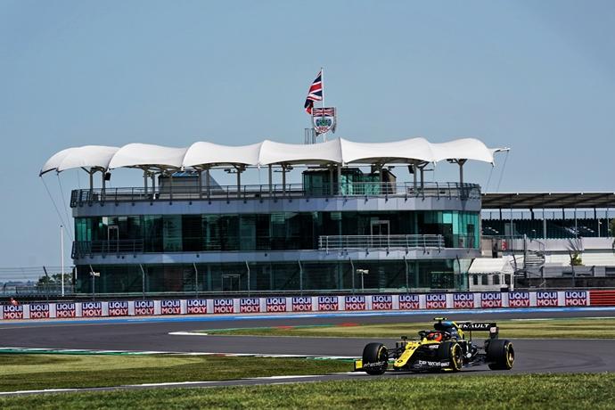 Viernes en Silverstone – Renault: día silencioso para los franceses