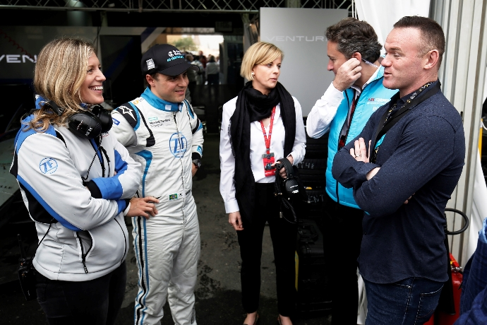 Desgraining una charla con Susie Wolff y Felipe Massa