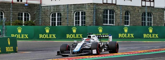 Viernes en Bélgica – Williams: en lucha con Haas y Alfa Romeo
