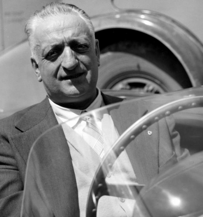 Desgraining: la despedida de Enzo Ferrari