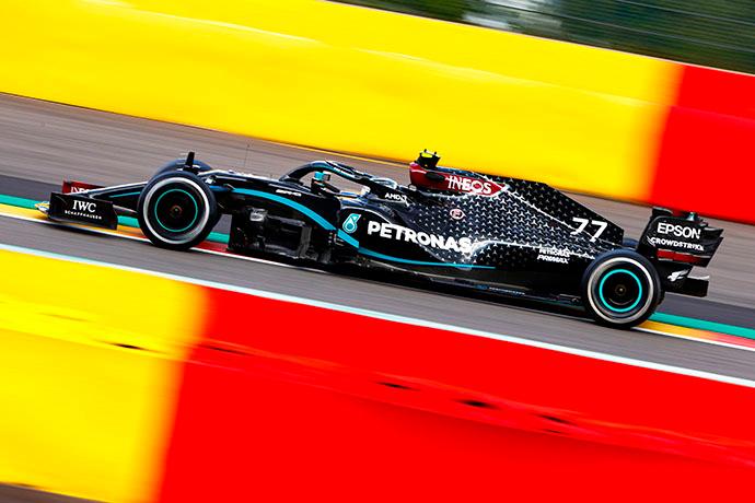 Domingo en Bélgica - Mercedes se da un paseo por Spa y hace un 1-2