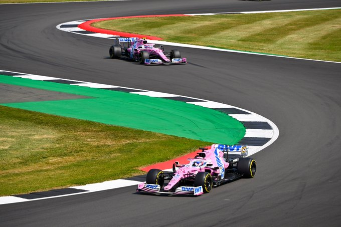 Domingo en Gran Bretaña - Racing Point finaliza con menos puntos de los esperados