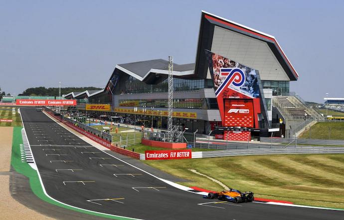 Domingo en Gran Bretaña – McLaren rescata 2 puntos con Lando; Sainz fuera del Top 10