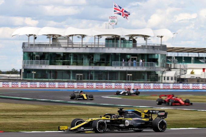 Domingo en Silverstone – Renault consigue un gran número de puntos
