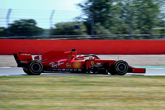 Ferrari incorpora un nuevo chasis en el coche de Vettel para el GP de España