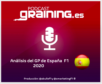Podcast Graining Media F1 No. 49 con el análisis del GP de España 2020