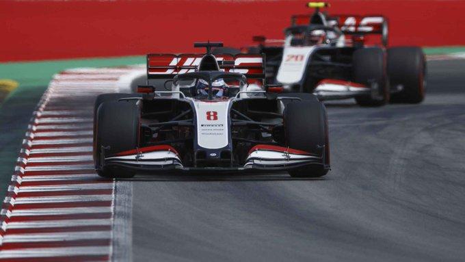 Sábado en España Haas vuelve a la realidad y se queda en Q1