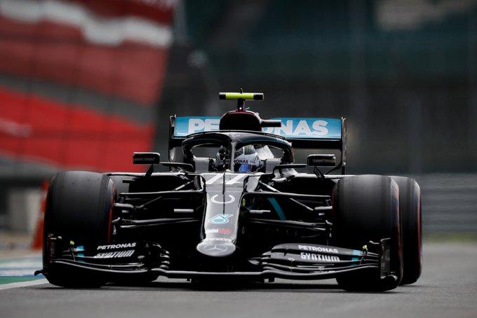 Sábado en Gran Bretaña Bottas se lleva la pole y Hülkenberg tercero