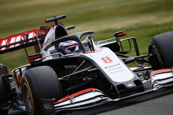 Sábado en Gran Bretaña - Haas: Grosjean entra en Q2