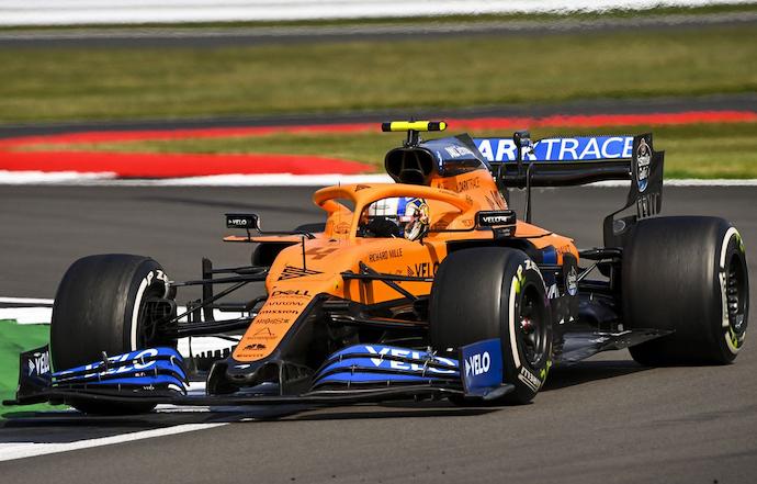 Domingo en Gran Bretaña – McLaren rescata 2 puntos con Lando y Sainz fuera del Top 10