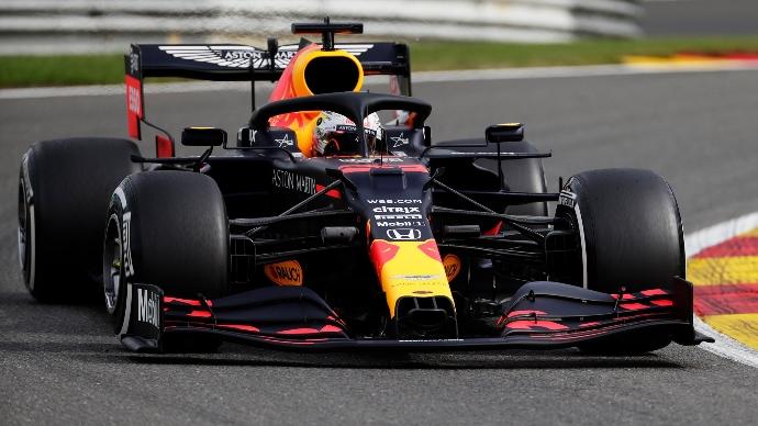 Libres 2 en Bélgica - Verstappen viste de naranja la FP2 en Spa