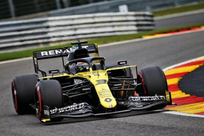 Viernes en Bélgica- Renault consigue un segundo puesto en los libres 2 gracias a Ricciardo