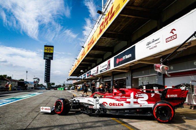 Viernes en España - Alfa Romeo a dos segundos de Mercedes