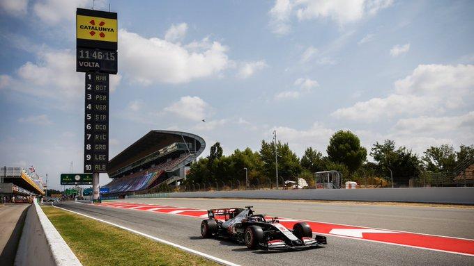 Viernes en España - Haas sorprende con la buena actuación de Grosjean