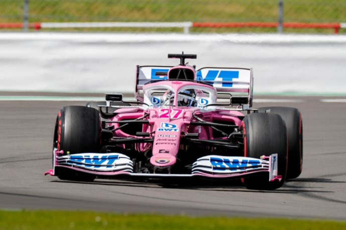 Viernes en Gran Bretaña - Racing Point concentrados en pista