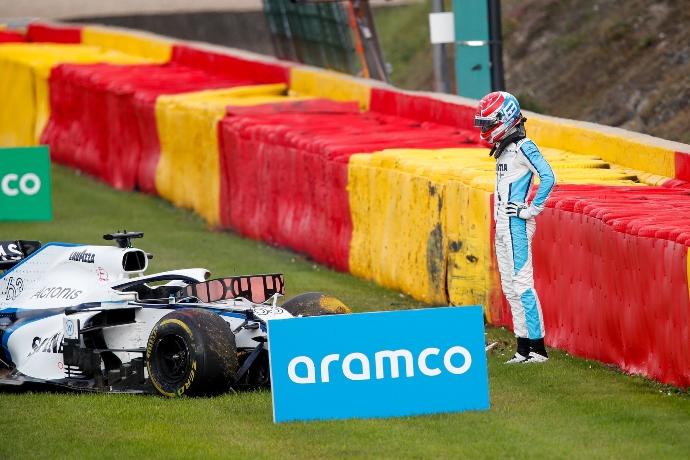 Domingo en Bélgica - Williams: cuando la realidad golpea duro