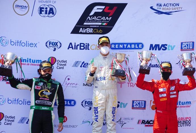 La FIA Fórmula 4 NACAM reanuda su temporada en el GP de Querétaro en México