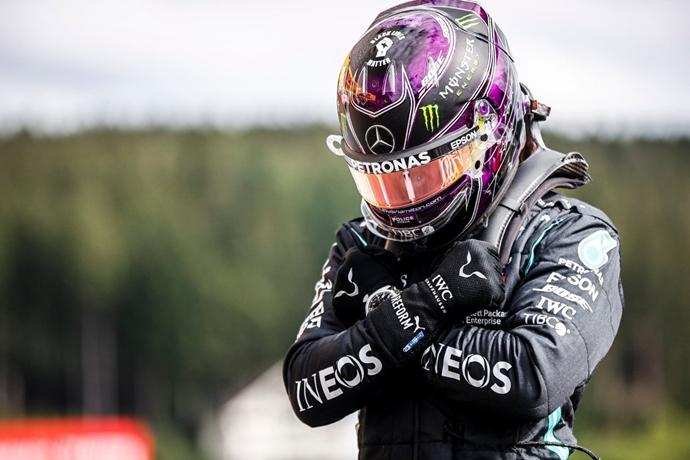 Clasificación en Bélgica: Hamilton no tiene rival en Spa