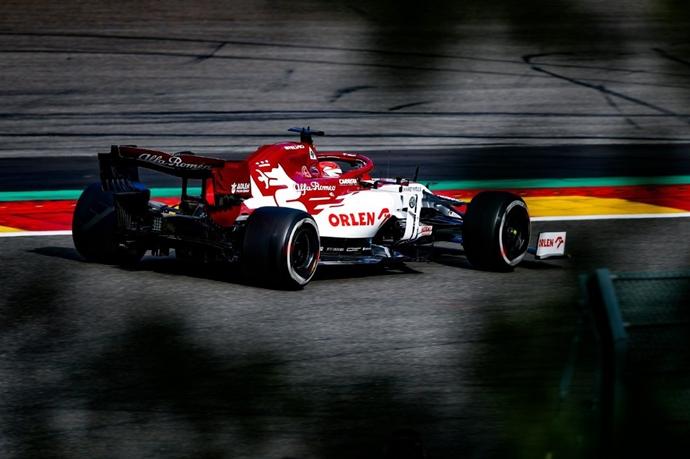 Domingo en Bélgica – Alfa Romeo: una carrera complicada cuando se esperaba más