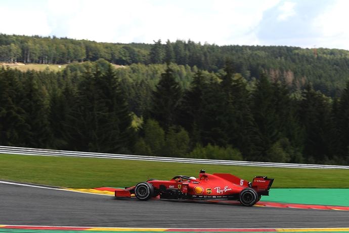 Domingo en Bélgica - Ferrari sufre en Spa