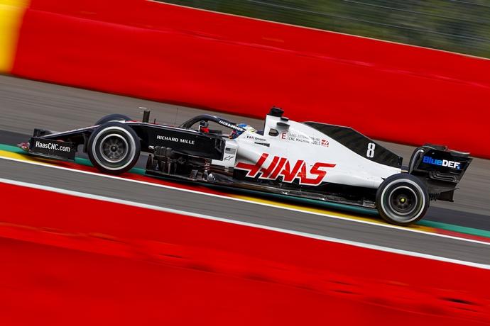 Domingo en Bélgica - Haas no pudo hacer mucho en 44 vueltas