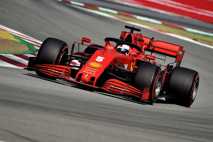 Domingo en España – Ferrari: Vettel remonta hasta un gran séptimo lugar; Leclerc se retira