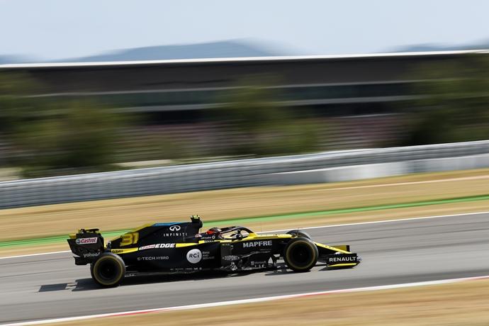 Domingo en España - Renault no halló su ritmo en todo el fin de semana