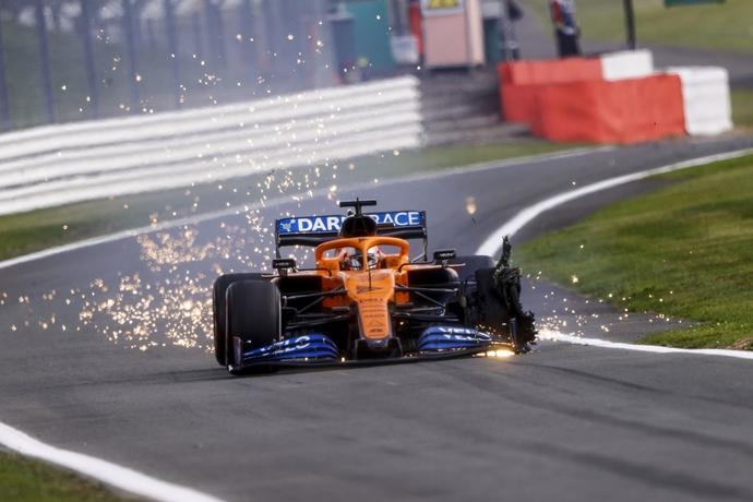 Domingo en Silverstone – McLaren: Buenas sensaciones que dejan un sabor agridulce