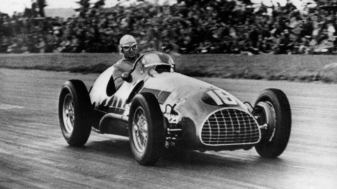 Desgraining: Ferrari en F1 durante los años cincuenta