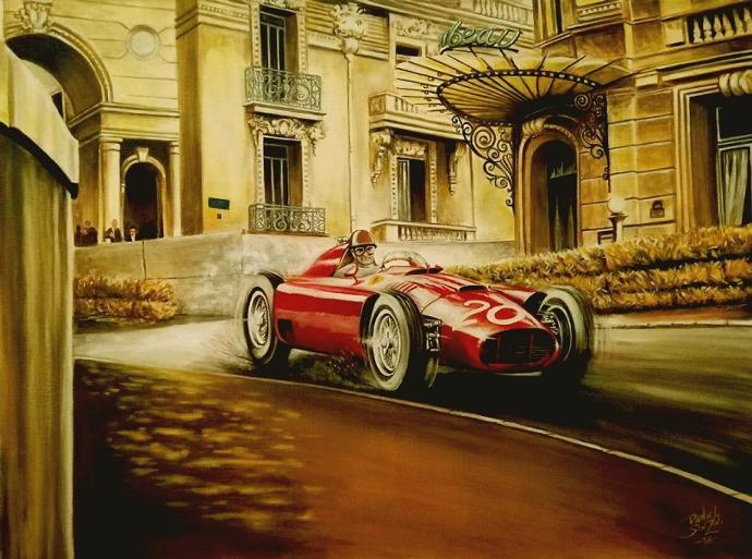 Desgraining: Un prólogo a los 1000 Grandes Premios de Ferrari