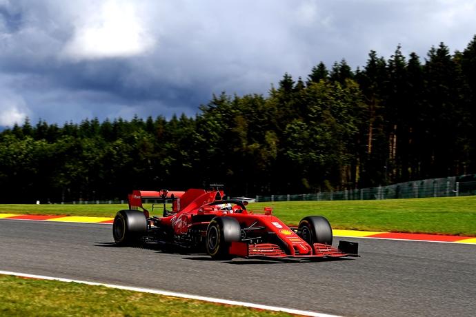 Sábado en Bélgica- Ferrari solo llegó a la séptima fila