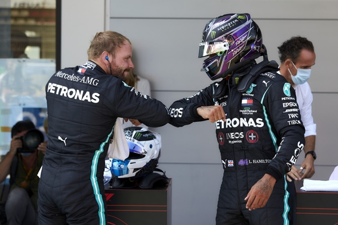 Sábado en España – Mercedes asegura la primera fila en Cataluña