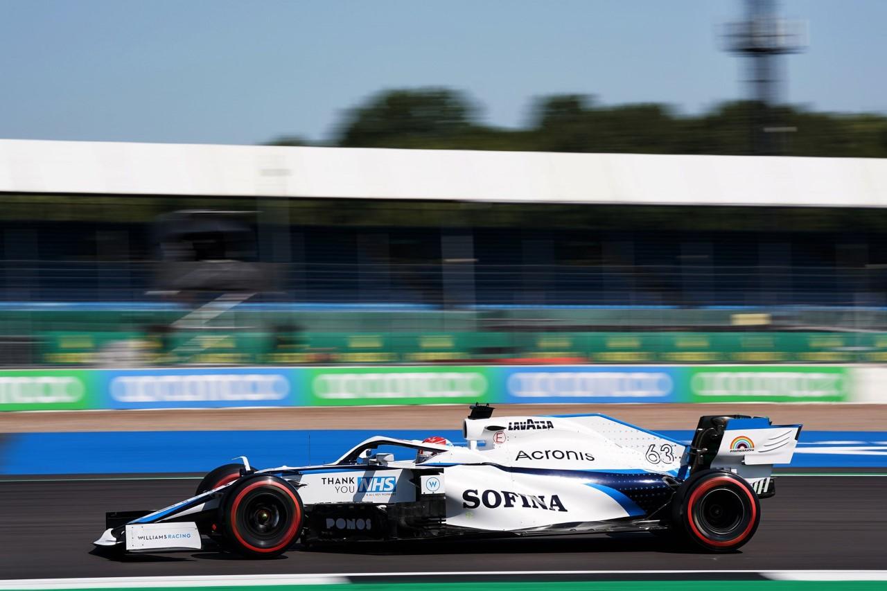 Sábado en Silverstone – Williams: Russell se mete en Q2 por tercera carrera consecutiva