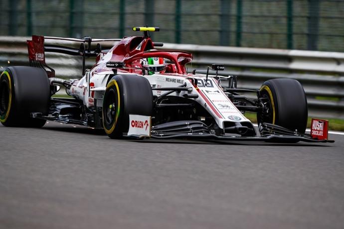 Viernes en Bélgica – Alfa Romeo: con miras a la Q2