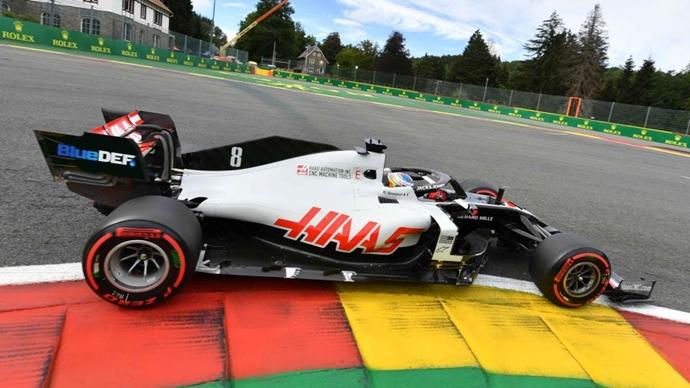 Viernes en Bélgica - Haas: muchos problemas y pocas vueltas